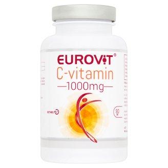 Eurovit C-vitamin 1000 mg Supplement Retard Tablets with Vitamin C 90 pcs 111 g