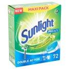 Sunlight All in 1 Double Action gépi mosogató tabletta 72 db 1260 g