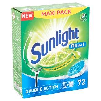 SUNLIGHT All in One Dishwashing Tabs 72 pcs