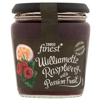 Tesco Finest Williamette Raspberry with Passion Fruit 340 g