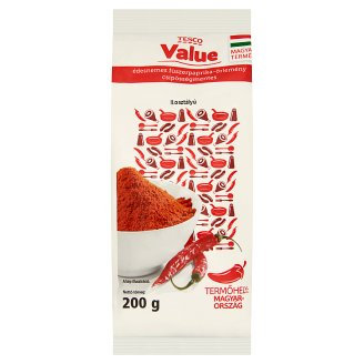Tesco Value II. Class Sweet Ground Pepper 200 g