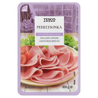 Tesco Sliced Ham 100 g