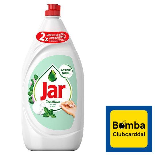 Jar Sensitive Washing Up Liquid Teatree & Mint 1.35 l