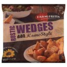 Farm Frites Pre-Fried, Deep Frozen BBQ Home-Style Rustic Wedges 1 kg