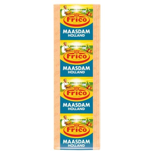 Frico Maasdam Semi-Fat Semi-Hard Cheese Block