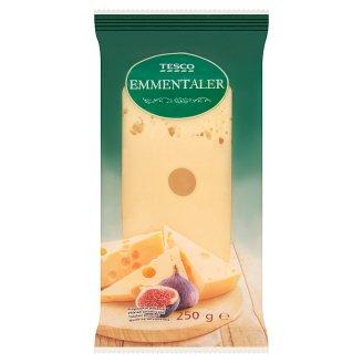 Tesco zsíros, félkemény ementáli sajt 250 g