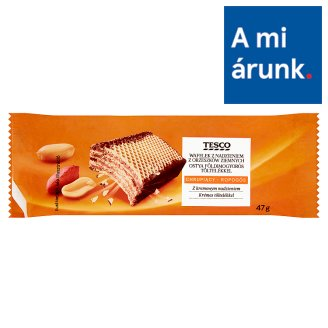 Tesco Wafer with Peanut Filling 47 g