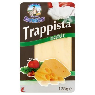 Hortobágy Sliced Unflavoured Trappist Cheese 125 g