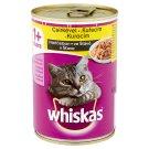Whiskas 1+ teljes értékű állateledel felnőtt macskák számára csirkével mártásban 400 g