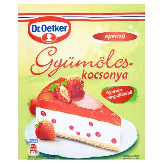 Dr. Oetker Strawberry Flavoured Powdered Gelatine Cake Covering 100 g