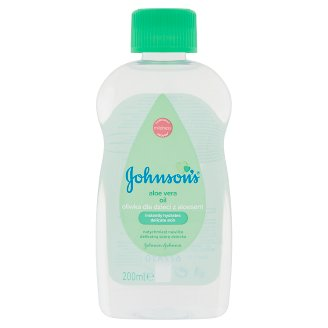 Johnson's Baby Oil with Aloe Vera Extract 200 ml