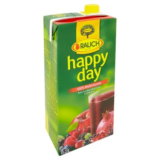 Rauch Happy Day 100% Multivitamin Mixed Fruit Juice with 8 Vitamins 2 l