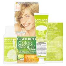 image 2 of Garnier Color Naturals Crème 8 Light Blonde Nourishing Permanent Hair Colorant