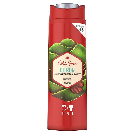 Old Spice Citron Shower Gel & Shampoo Men 400ml
