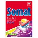 Somat All in One Lemon & Lime gépi mosogatószer tabletta 48 db 864 g