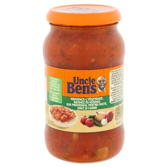 Uncle Ben's Provence Sauce with Vegetables 395 g