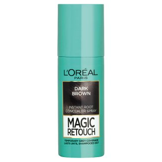 L'Oréal Paris Magic Retouch Sötétbarna azonnali hajtőszínező spray 75 ml