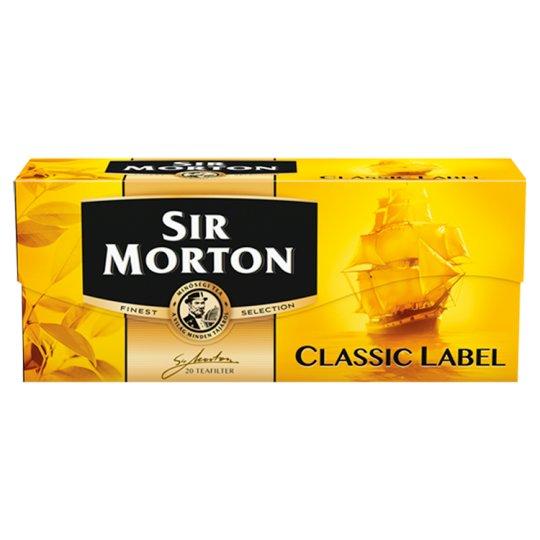 Sir Morton Classic Label Black Tea Mix 20 Tea Bags 35 g