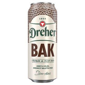 Dreher Bak Quality Brown Beer 7,3% 0,5 l