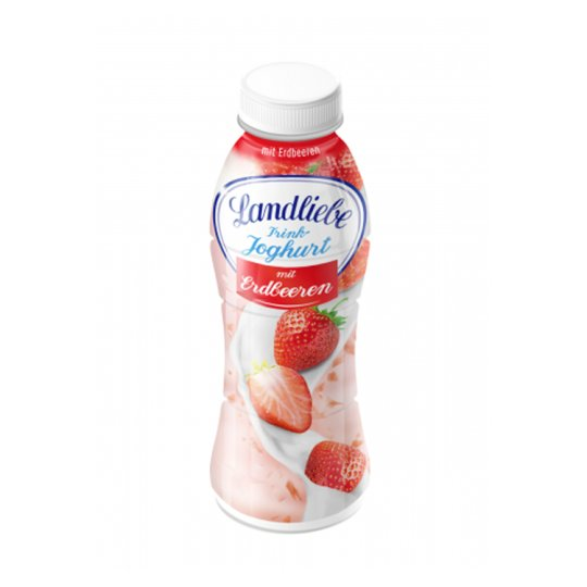 Landliebe Strawberry Flavoured Low-Fat Yoghurt Drink 350 g