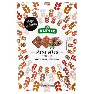 Kupiec Mini Bites Cocoa Wholemeal Cookies 50 g
