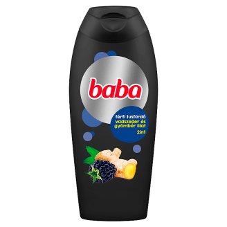 Baba 2in1 vadszeder és gyömbér férfi tusfürdő 400 ml