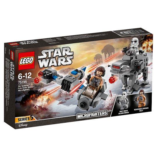 LEGO STAR WARS TM Ski Speeder™ vs. First Order Walker™ Microfighters 75195