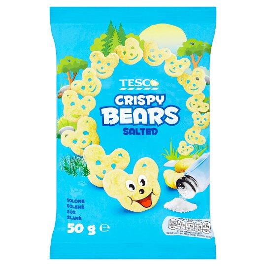 Tesco Salted Crispy Bears 50 g