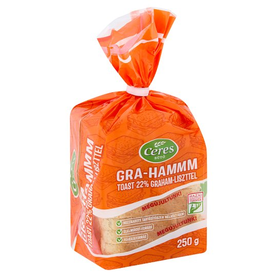Ceres Sütő Gra-hammm Toast 250 g