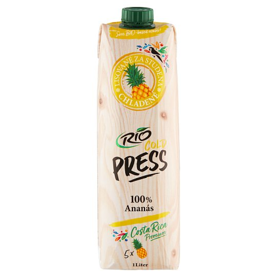 RIO FRESH 100% Pineapple Juice 1 l