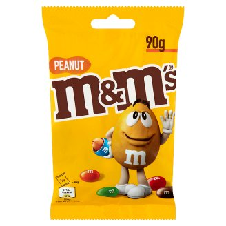 M&M's Peanut Dragées with Milk Chocolate in Sugar Coating 90 g