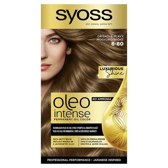 Syoss Color Oleo Intense Oil Hair Colorant 6-80 Hazel-Nut Blonde