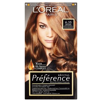 image 1 of L'Oréal Paris Préférence 6.35/A3 Light Chestnut Premium Ultra-Resistant Colorant
