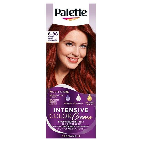 Schwarzkopf Palette Intensive Color Creme intenzív krémhajfesték 6-88 intenzív vörös (RI5)