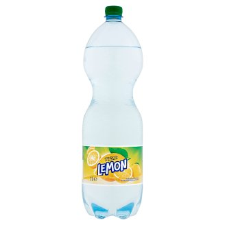 Tesco Lemon Flavoured Carbonated Drink with Sugar and Sweetener 2 l