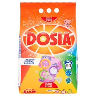 Dosia Multi Powder Detergent for Coloured Clothes 60 Washes 4,2 kg