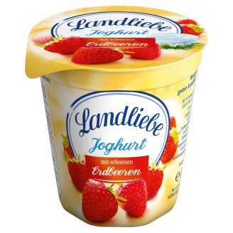 Landliebe Fruit Yoghurt with Cherry or Peach or Strawberry or Blueberry 4 x 150 g
