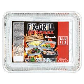 Alufix Fix-Grill sütőforma 3 db