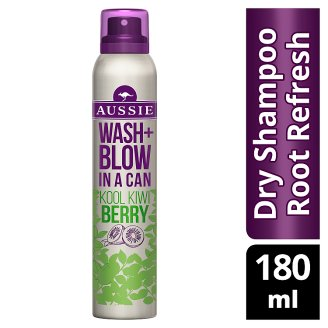 Aussie Mega Instant Miracle Dry Shampoo For Normal, Greasy Hair 180ml