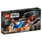 LEGO STAR WARS TM A-Wing™ vs. TIE Silencer™ Microfighters 75196