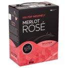 Hilltop Bor-Box Neszmély Merlot Rosé dunántúli száraz rosé bor 12,5% 3 l