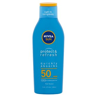 NIVEA SUN Protect & Refresh hűsítő naptej FF50 200 ml