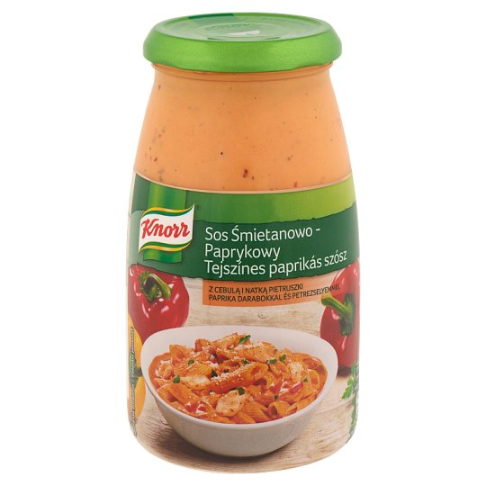 Knorr Cream-Paprika Sauce 500 g