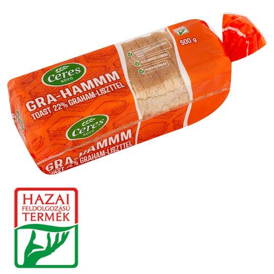 Ceres Sütő Gra-hammm Toast 500 g