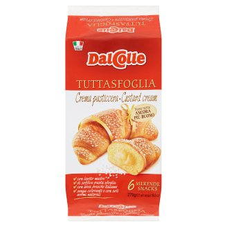 Dal Colle Confectionery Product Filled with Custard Cream 6 pcs 270 g