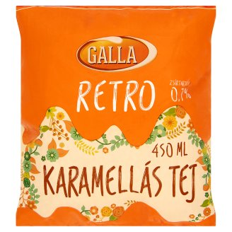 Galla Retro Caramel Milk 450 ml