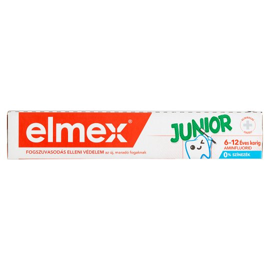 elmex Junior Toothpaste with Fluoride for 6 to 12 Years 75 ml