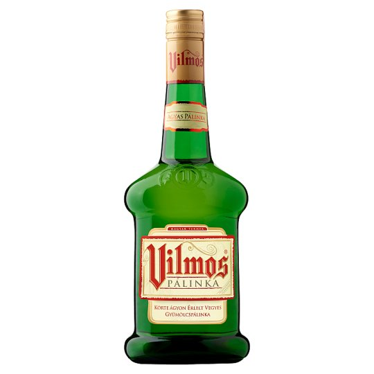 Vilmos Mixed Fruit Palinka Mellowed on Pear Bed 37,5% 0,7 l