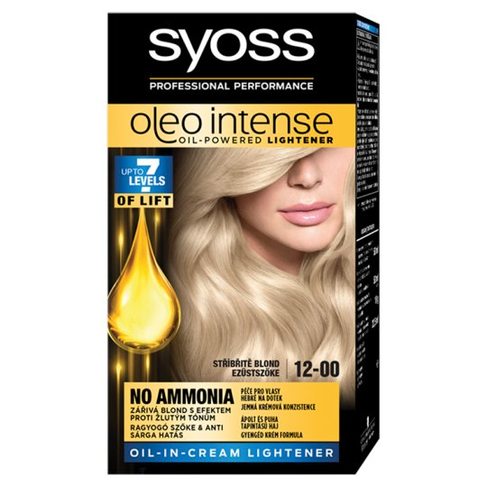 Syoss Color Oleo Intense Oil Hair Colorant 12-00 Silver Blonde