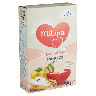 Milupa Mixed Fruit Flavoured Milk Pulp 6+ Months 250 g